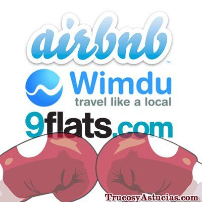 Airbnb vs Wimdu vs 9flats