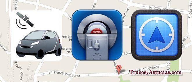 apps para encontrar coche aparcado