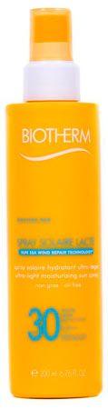 spray de protector solar biotherm solaire lacte spf