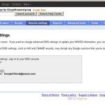 Código de autorización de dominio de Google Apps