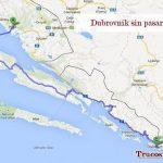 Ir a Dubrovnik sin pasar por Bosnia