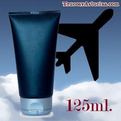 líquidos en el avión