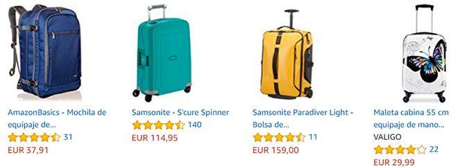 mejores maletas de mano para viajar