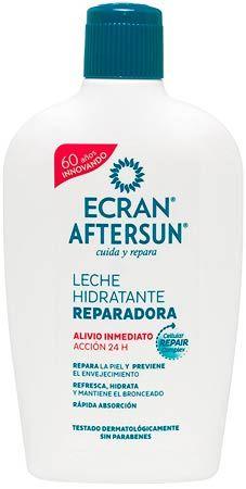 crema hidratante after un recomendada: ecran