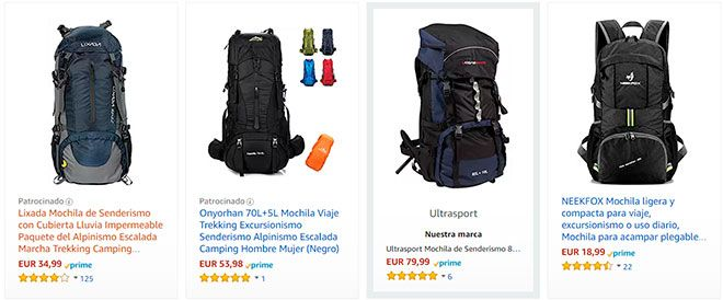 las mejores mochilas de senderismo para viajar como equipaje de mano