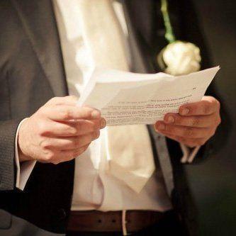 Hacer un discurso de boda: consejos y trucos