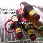 Botellines de cerveza: truco para almacenarlos