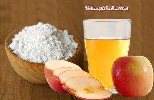 champú casero con bicarbonato y vinagre de manzana