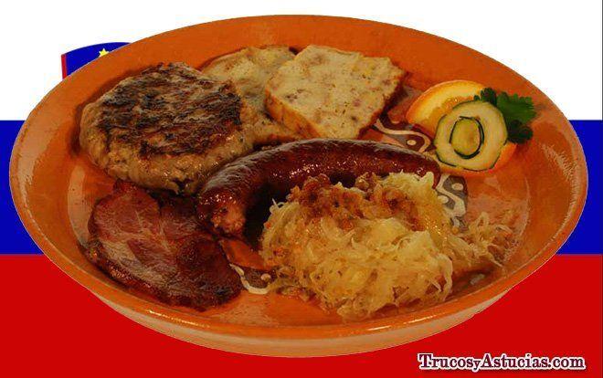 turismo en eslovenia: comida típica de eslovenia