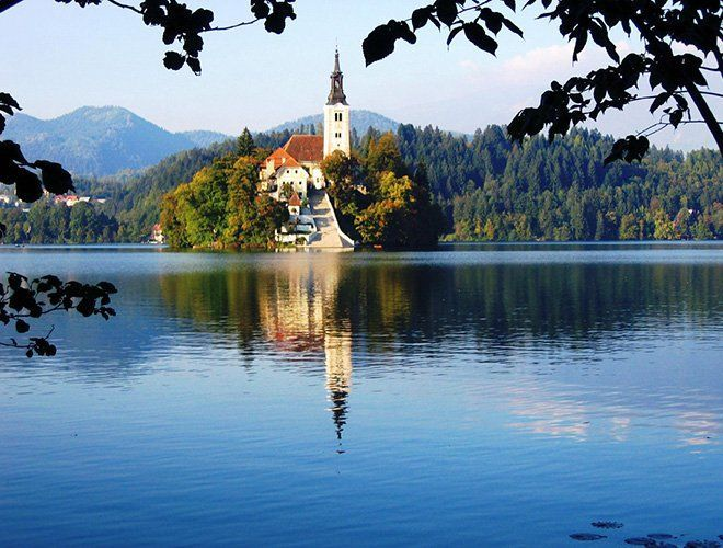 Turismo en Eslovenia: el lago bled