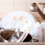 Truco para no lavar los platos (humor)