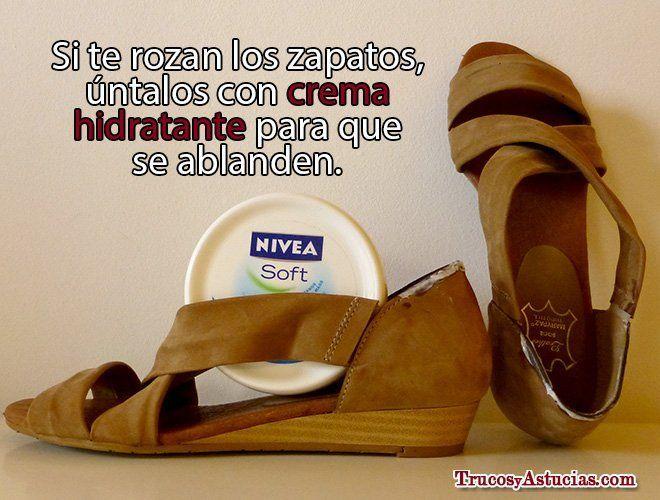 Rozaduras de zapato: cómo evitarlas