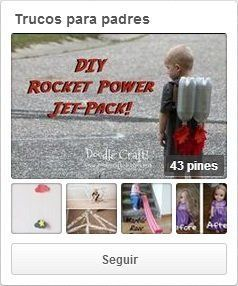 Trucos para padres en Pinterest