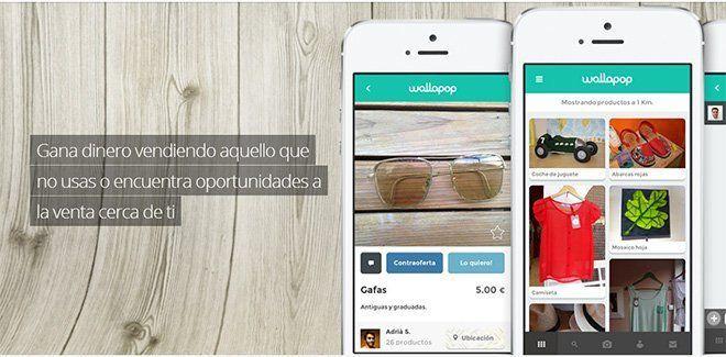 App para vender ropa usada y de segunda mano