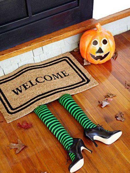 Decoraci n para halloween casera con manualidades trucos - Decoracion halloween para imprimir ...