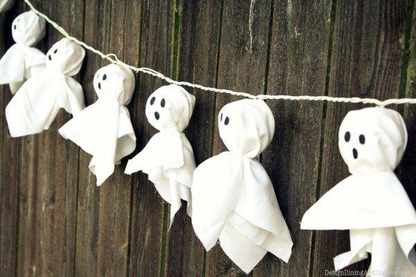 Decoracion Para Halloween Casera Con Manualidades 40 Ideas - Manualidades-de-halloween-para-decorar