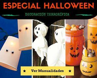 Decoración para Halloween casera