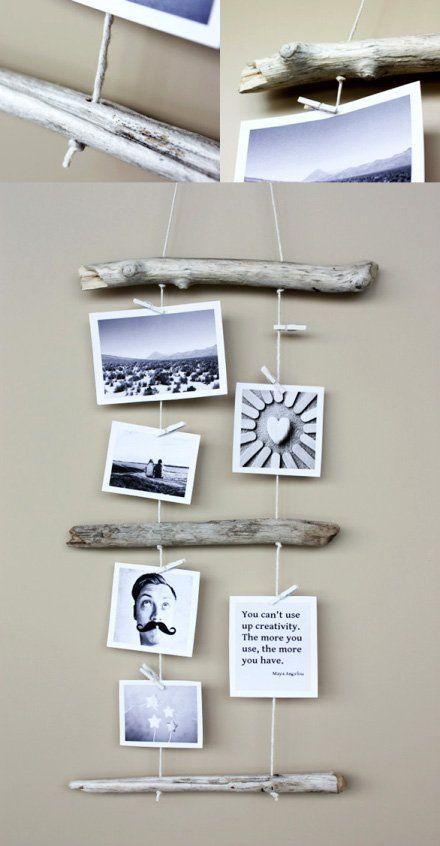 14 marcos de fotos caseros f ciles y originales trucos - Marcos economicos ...