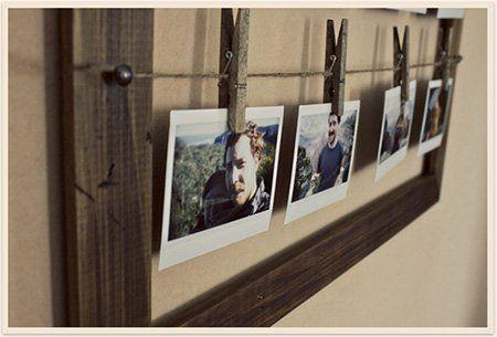 14 marcos de fotos caseros f ciles y originales trucos y astucias - Marcos economicos ...