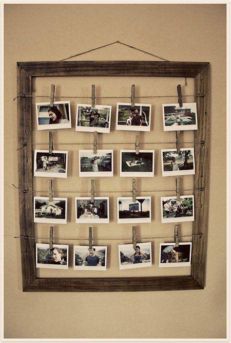 Marcos de fotos caseros. Fáciles y originales - Trucos y Astucias