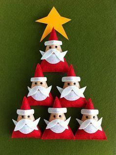 13 Manualidades De Arbol De Navidad Trucos Y Astucias - Manualidad-arbol-navidad