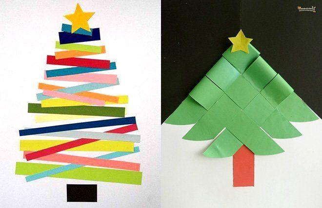 13 manualidades de rbol de navidad trucos y astucias - Arboles de navidad manualidades navidenas ...