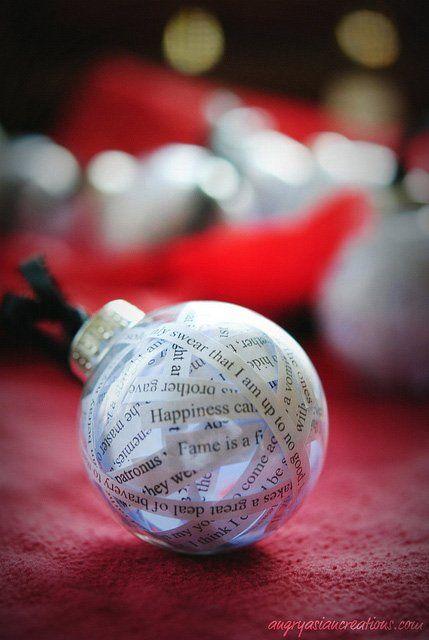 20 originales bolas de navidad que t puedes hacer - Bolas transparentes para decorar ...