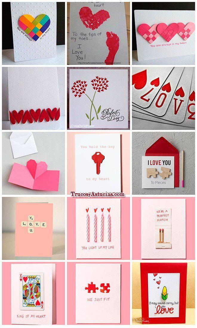100 Manualidades Romanticas Y Para San Valentin Trucos Y