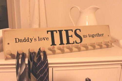 manualidad del día del padre para corbatas