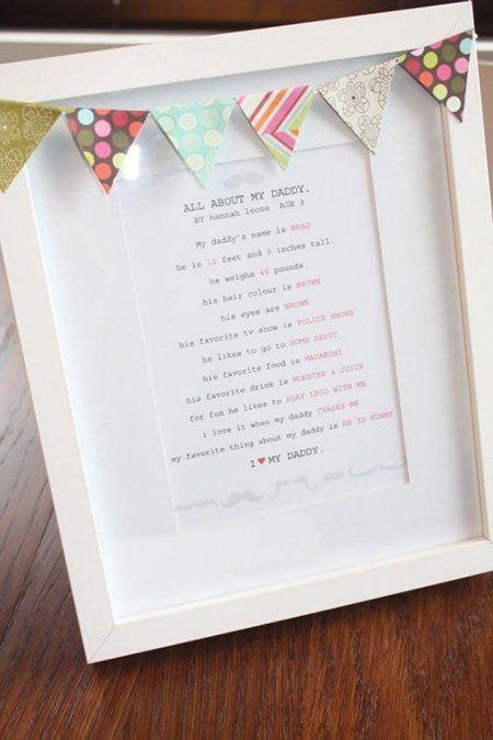 marco manual para el día del padre