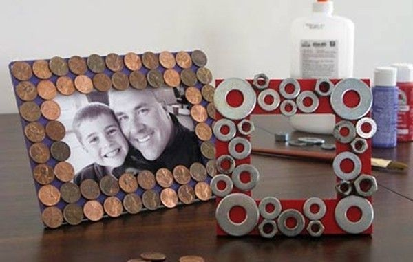 Father's Day DIY Picture Frame Crafts