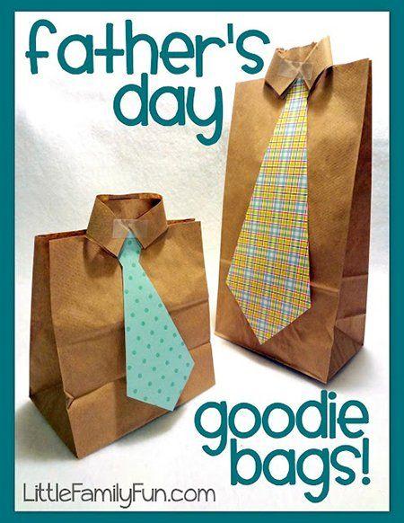すべての折り紙 折り紙 ネクタイ : Father's Day Goodie Bags