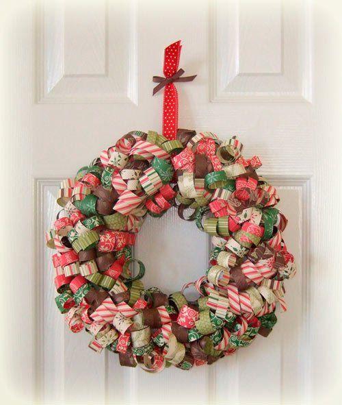 31 coronas de navidad con instrucciones para hacerlas for Coronas de navidad hechas a mano