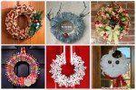 coronas de navidad para la puerta