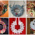 31 coronas de Navidad con instrucciones para hacerlas