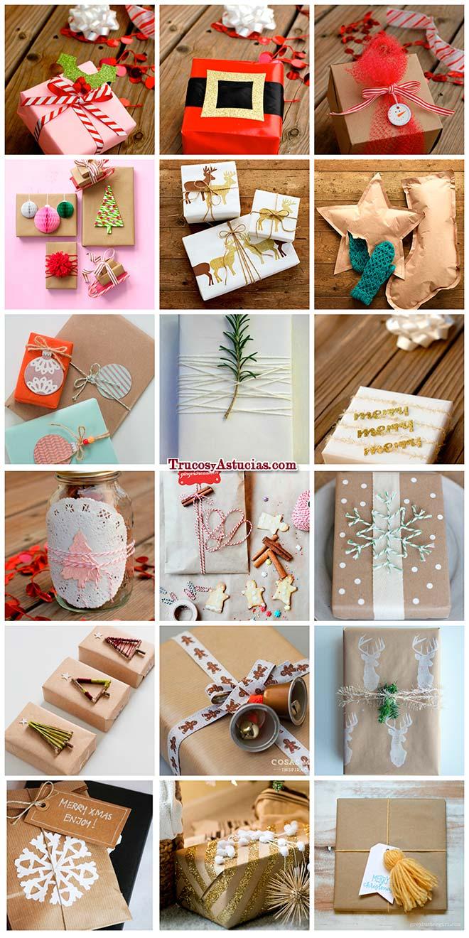67 ideas para envolver regalos de forma original trucos for Manualidades caseras para regalar