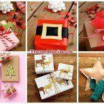 30 Ideas originales para Envolver regalos de Navidad