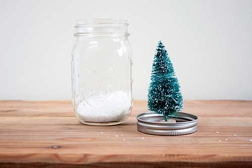 cómo hacer bolas de nieve caseras fáciles