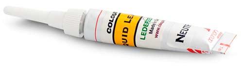 cuero líquido para reparar cuero o piel
