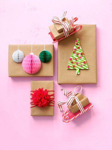 Ideas Para Regalar Navidad Manualidades.30 Ideas Originales Para Envolver Regalos De Navidad