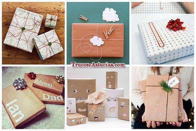 ideas para envolver regalos de forma original en el día de la madre