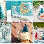 ¿Cómo hacer Bolas de Nieve caseras? 12 distintas a elegir