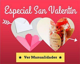 30 Manualidades para regalar en San Valentín