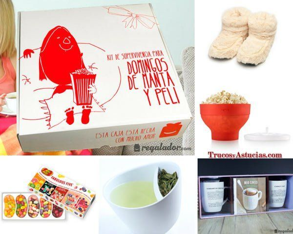 caja de regalo con sorpresas romanticas para san valentín