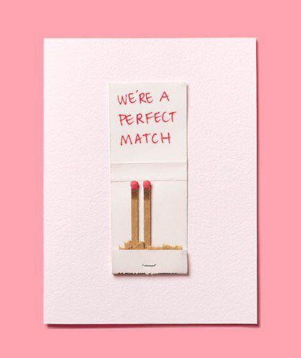 tarjeta de San Valentín original  en inglés