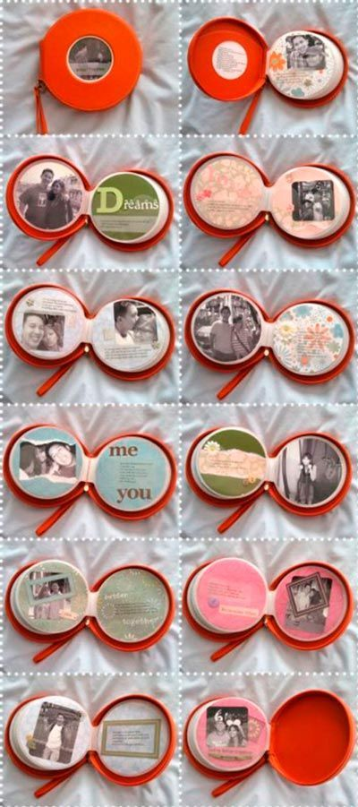scrapbook original para san valentín