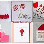 +21 Tarjetas de Amor para San Valentín, con Manualidades