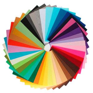 comprar fieltro de colores para manualidades diy