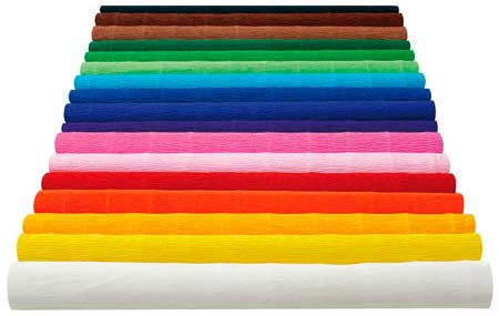 comprar papel de pinocho (papel crepe, papel rizado o papel crespón) online