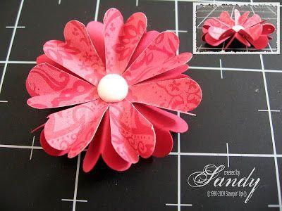 manualidad para hacer un detalle flor